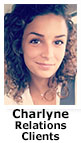 Charlyne, relations clients du CDCH