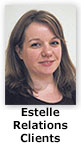 Estelle, relations clients du CDCH